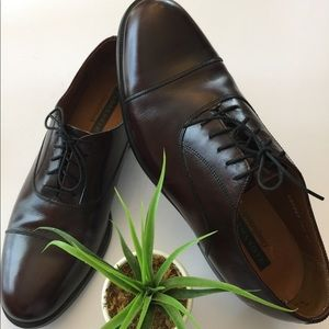 Florsheim🌷Maroon leather lace up size 10.5